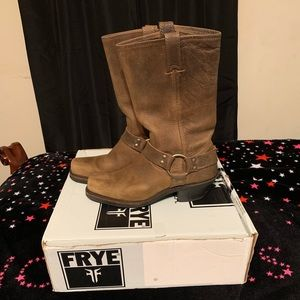 Frye Harness Motorcycle Boots